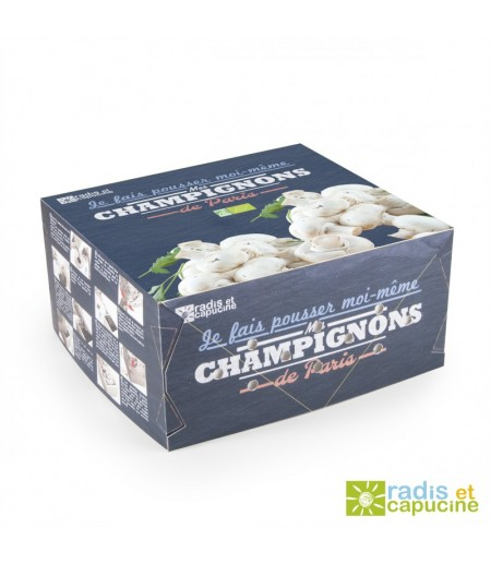 KIT DE CULTURE CHAMPIGNONS DE PARIS BIO