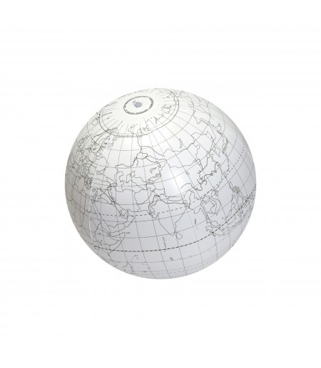GLOBE GONFLABLE INSCRIPTIBLE Ø 60 CM