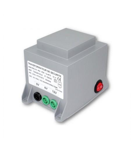 TRANSFORMATEUR MOULE 6/12VDC 100VA