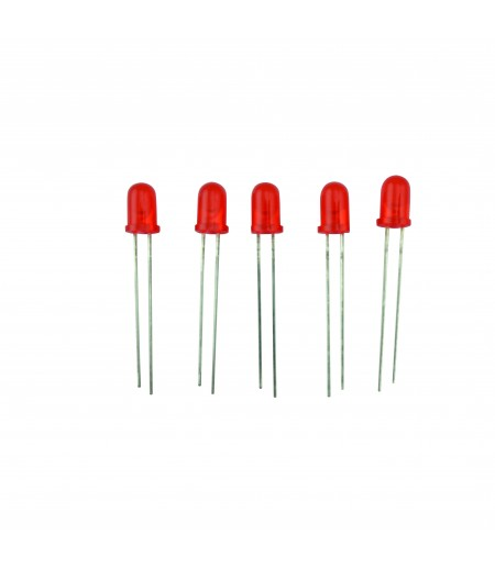LOT DE 10 DEL NUES Ø5 MM