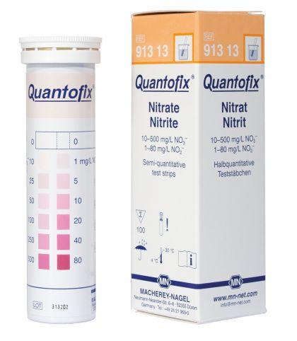 BANDELETTES DE TESTS NITRITE/NITRATE : LOT DE 100