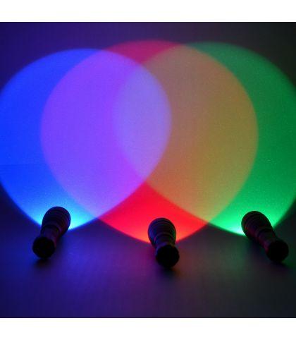 LAMPE TORCHE A LED EN ALUMINIUM ANODISE