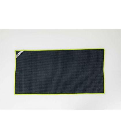 TORCHON VAISSELLE MICROFIBRE - GRIS/VERT - 40X80 CM
