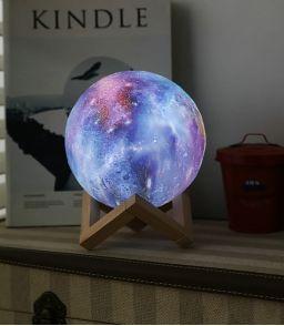LAMPE DECO ETOILES ET GALAXIES Ø15 CM